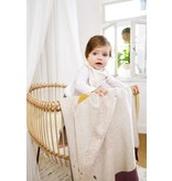 LASSIG Knitted Baby Blanket GOTS - Little Water Swan