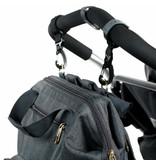 LASSIG LASSIG Glam Goldie Backpack Diaper Bag - Anthracite
