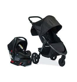 Britax Britax B-Free Travel System with B-Safe Ultra Car Seat