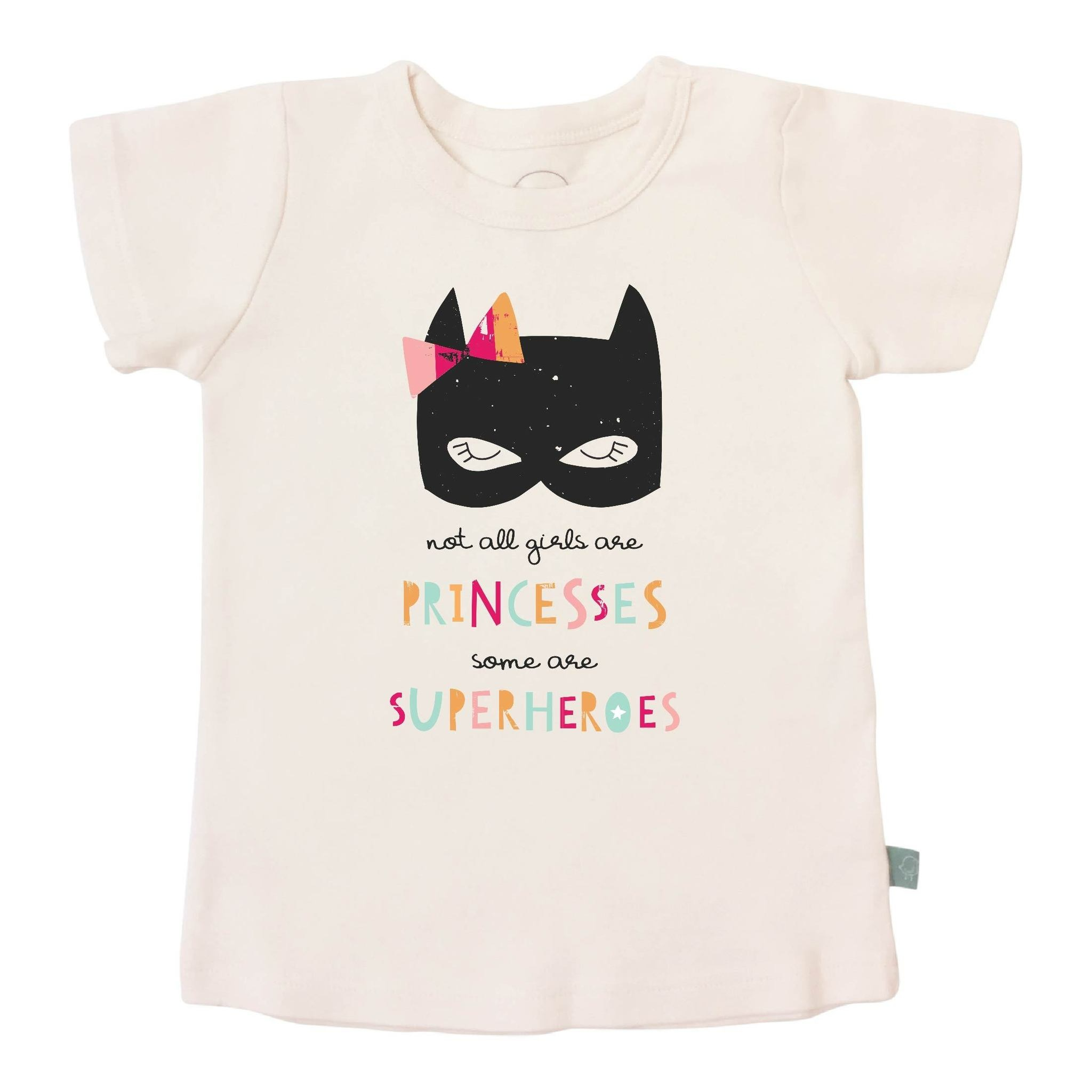 Finn + Emma finn + emma Graphic Tee - Superhero Princess