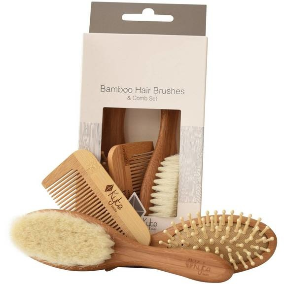 Kyte Baby Kyte Baby 3-Piece Bamboo Brush Set