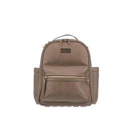 Itzy Ritzy Taupe Mini Diaper Bag Backpack