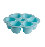 BEABA Silicone Multiportions Baby Food Storage Container with Cover - 3oz