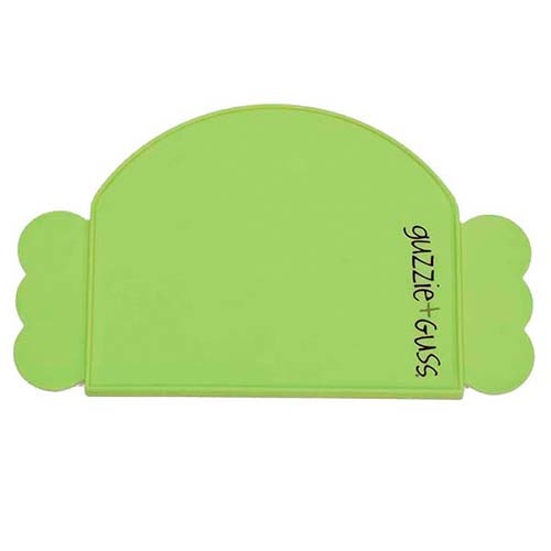 guzzie+Guss Perch Silicone Placemat Green
