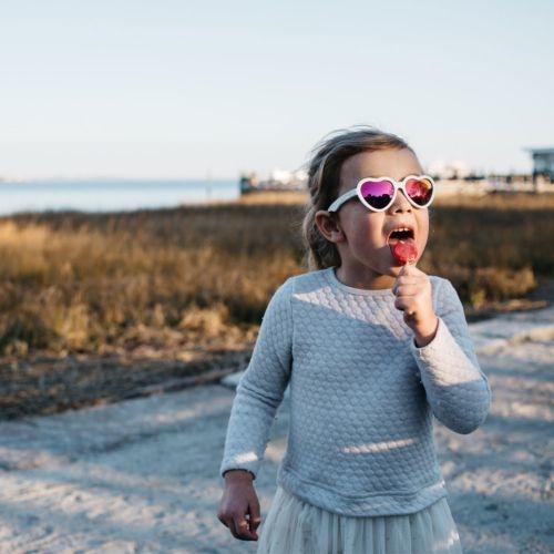 Babiators Babiators Polarized - The Sweetheart (Pink + Pink Mirror Lens)