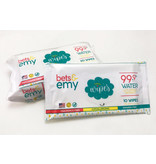 Bets & Emy Bets & Emy's Chemical-Free Baby Wipes - 10/ct