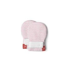 goumikids goumi Organic Mitts - Drops Pink