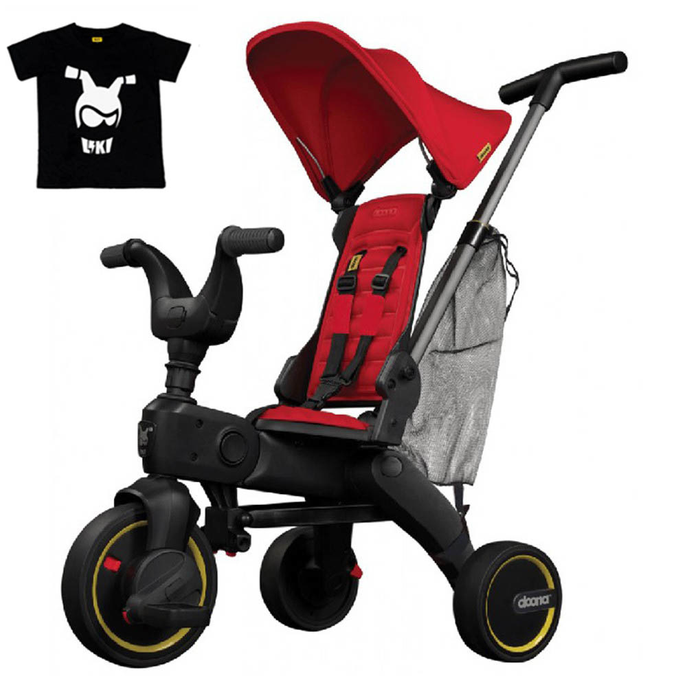 Doona Liki Trike S3 - Bundle + T-Shirt (Limited Edition)