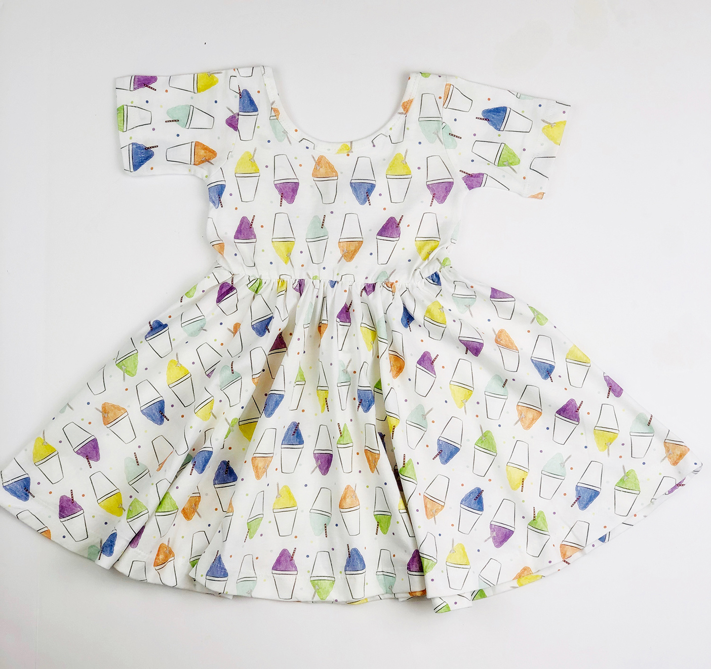 Nola Tawk Snoball Dress - Organic Cotton