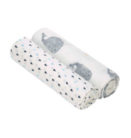 LASSIG Heavenly Soft Swaddle XL Set -