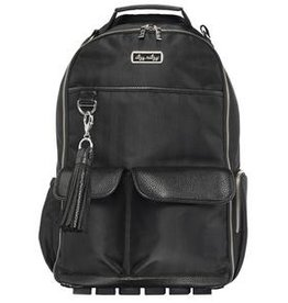 Itzy Ritzy Itzy Ritzy Diaper Bag Backpack - Black Herringbone