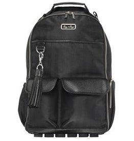 Itzy Ritzy Itzy Ritzy Diaper Bag Backpack - Black Herringbone