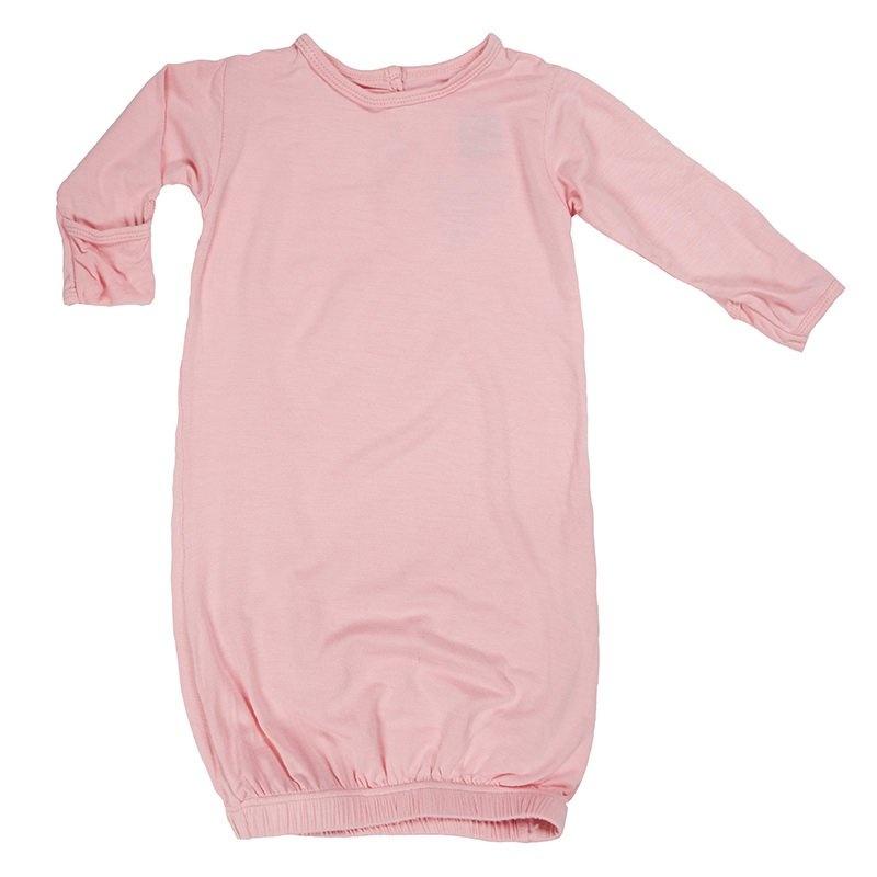 KicKee Pants KicKee Pants Basic Layette Gown in Lotus