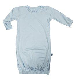 KicKee Pants KicKee Pants Basic Layette Gown in Pond