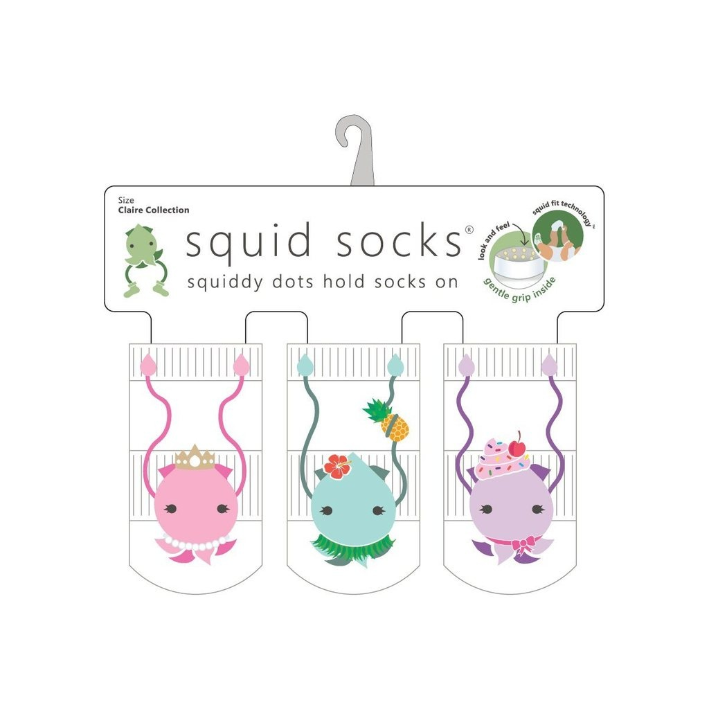 Squid Socks Squid Socks - Claire Collection