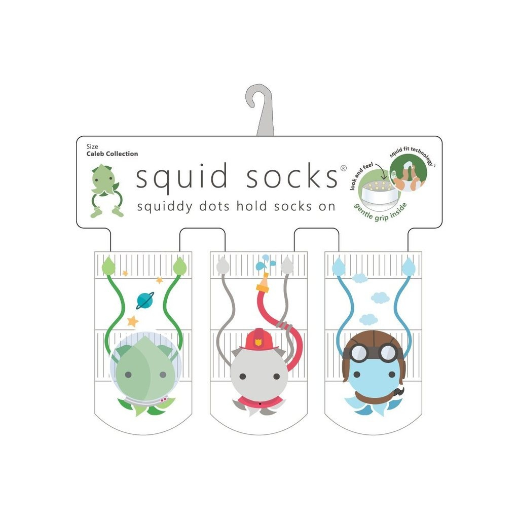 Squid Socks Squid Socks - Caleb Collection