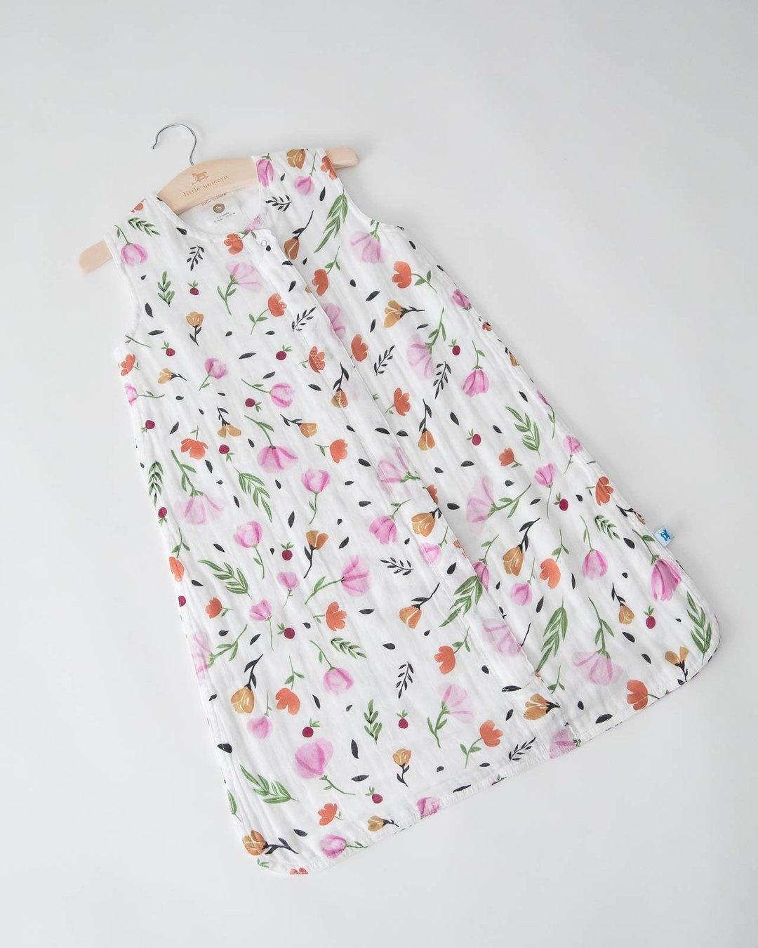 little unicorn little unicorn Cotton Muslin Sleep Bag - Berry & Bloom