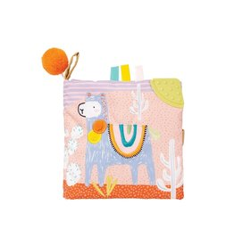 Manhattan Toys Llama Soft Book