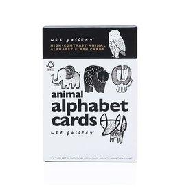 Wee Gallery Wee Gallery Animal Alphabet Cards (curbside/in store exclusive)