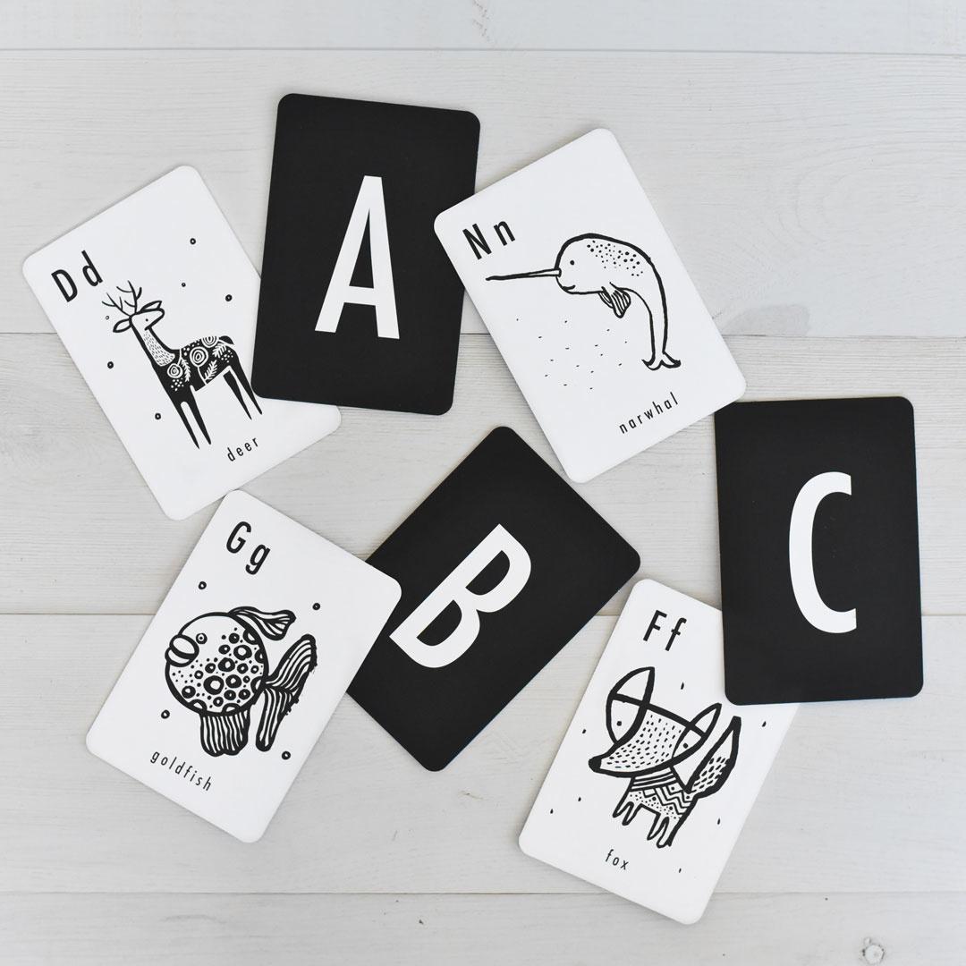 Wee Gallery Wee Gallery Animal Alphabet Cards