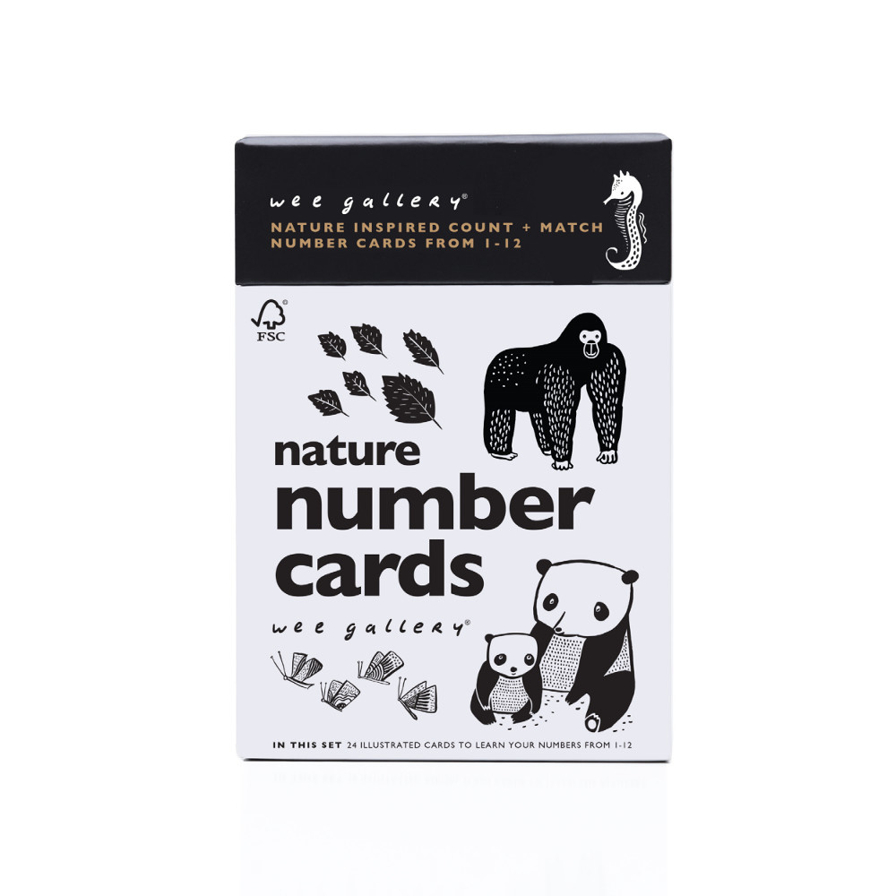 Wee Gallery Wee Gallery Nature Number Cards