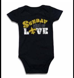 Le Petitee Sunday Kind of Love Onesie