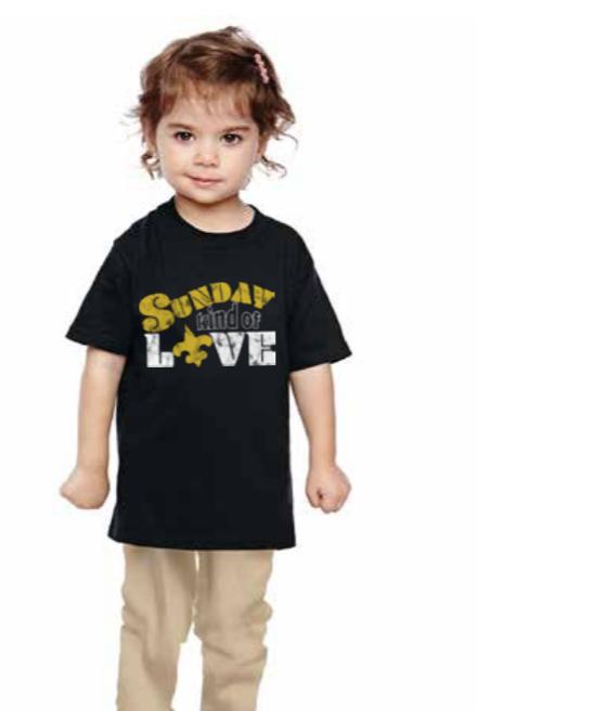 Le Petitee Sunday Kind of Love T-shirt