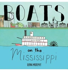 Books Boats on the Mississippi board book
