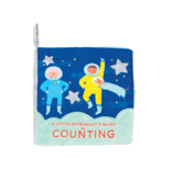 Manhattan Toys Soft Space Counting Book