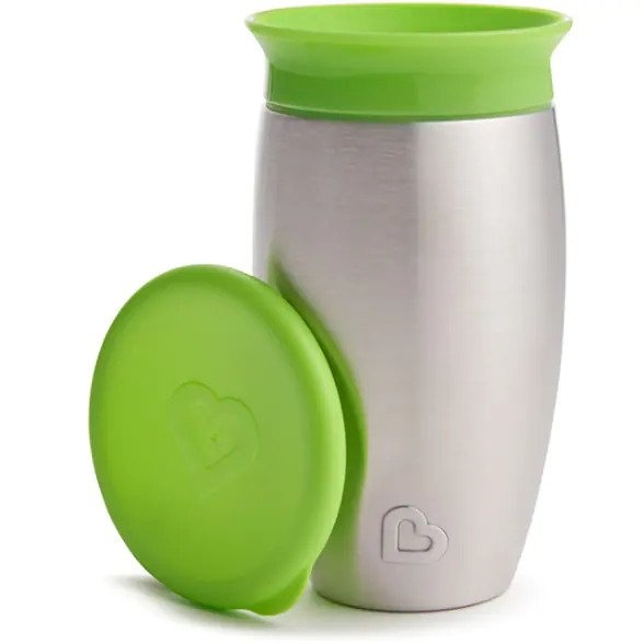 Munchkin Miracle® Stainless Steel 360° Sippy Cup