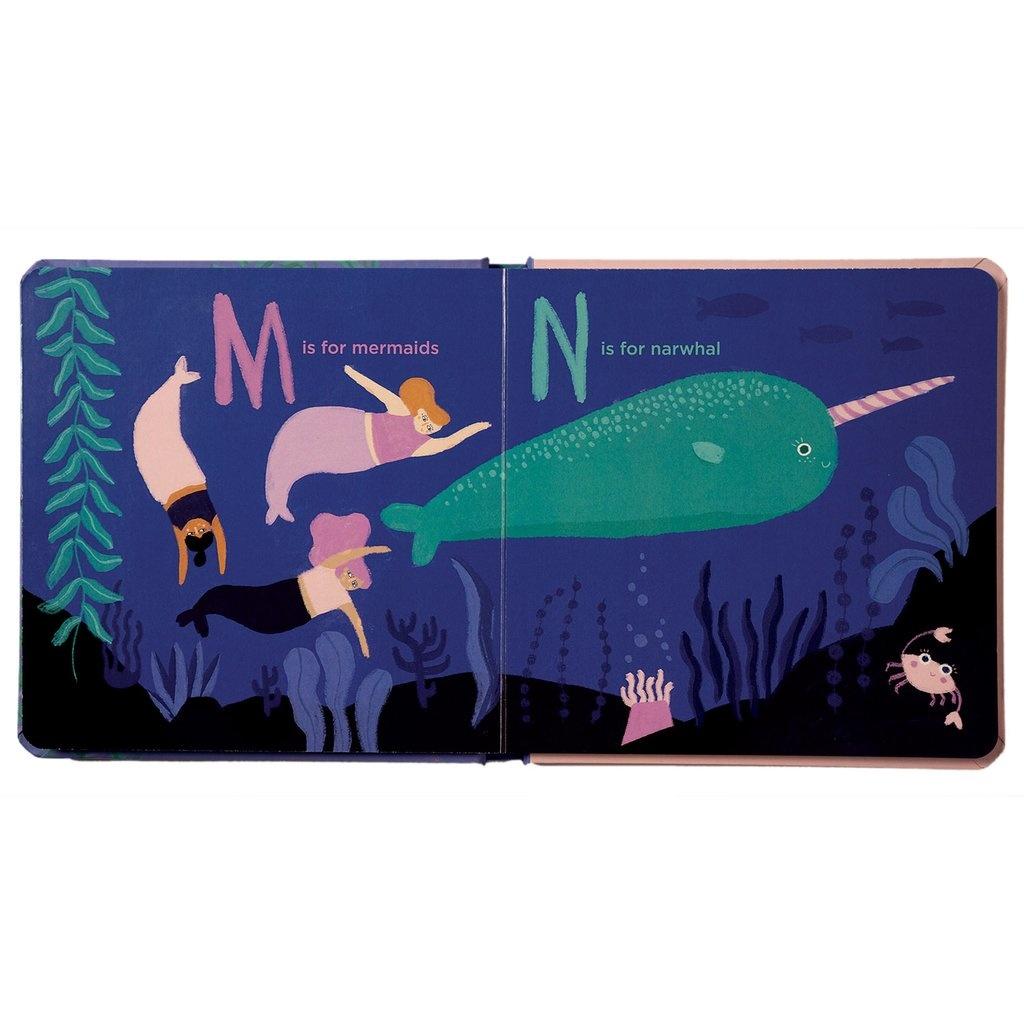 Manhattan Toys A Mermaid's ABC's - Board Book