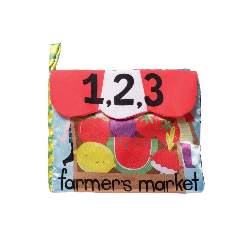 Manhattan Toys Farmer's Market Counting Soft Book