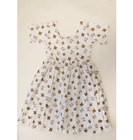 Nola Tawk Who Dat Organic Cotton Dress