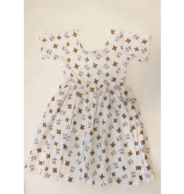 Nola Tawk Who Dat Organic Cotton Dress