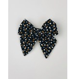 Nola Tawk Black & Gold Confetti Sailor Bow