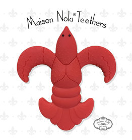 Maison Nola Crawfish Silicone Teether
