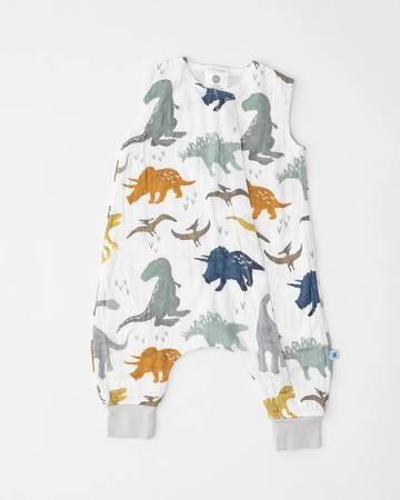 little unicorn little unicorn Sleep Romper - Dino Friends