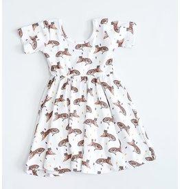 Nola Tawk Tigers Organic Cotton Dress (4T)