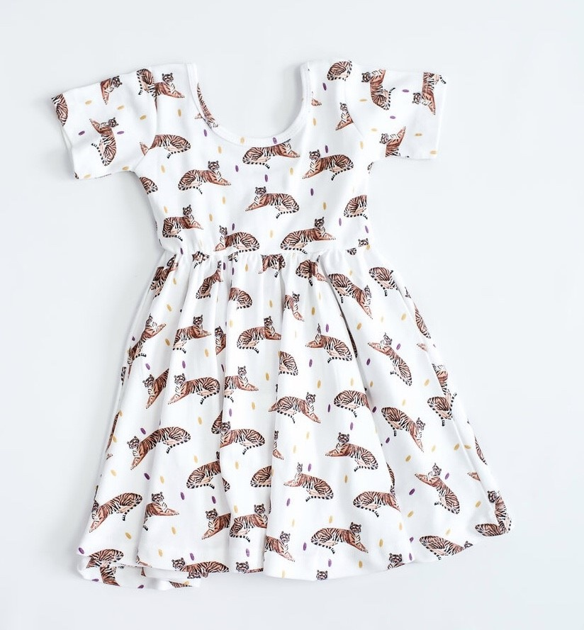 Nola Tawk Tigers Organic Cotton Dress