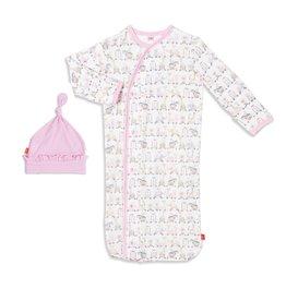 Magnetic Me Magnetic Me Modal Gown & Hat Set - Pink Taj Express (0-3 mo)