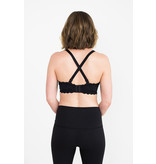 Simple Wishes Supermom All-In-One Nursing/Pumping Bra Black
