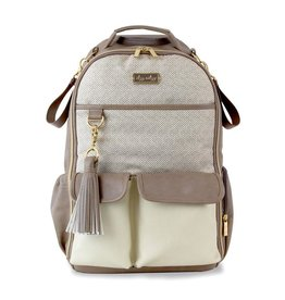 Itzy Ritzy Itzy Ritzy Diaper Bag Backpack- Vanilla Latte
