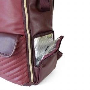 Itzy Ritzy Itzy Ritzy Diaper Bag Backpack- Hello Merlot