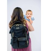 Itzy Ritzy Itzy Ritzy Diaper Bag Backpack- Jetsetter Black