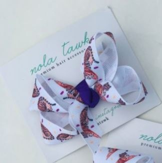 Nola Tawk Tiger Hair Bow - Small
