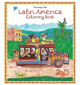 Books Latin America Coloring Book