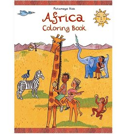 Books Africa Coloring Book