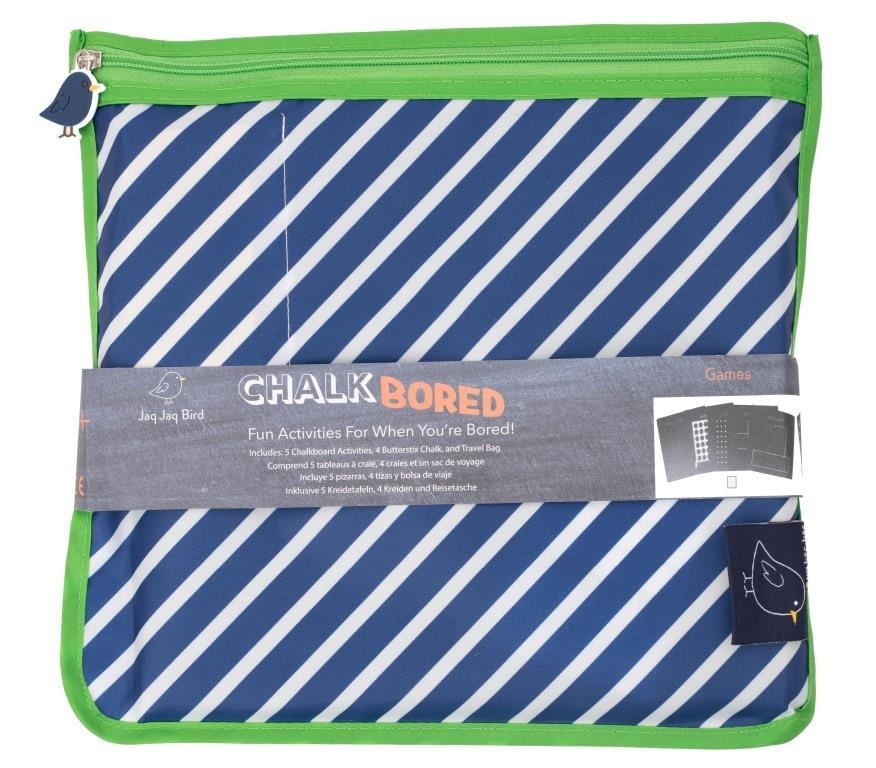 Jaq Jaq Bird Bored Boards Set with Zipper Pouch - Games