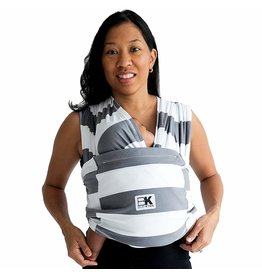 Baby K'Tan Baby K'Tan Baby Carrier - Nautical Heather Gray XS