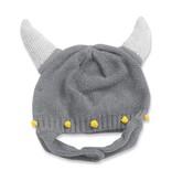 Angel Dear Viking Helmet Hat - Gray